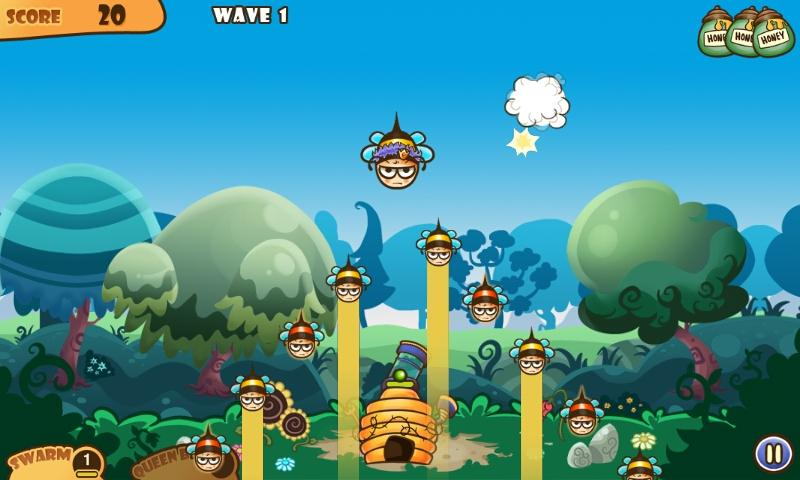 Honey Battle - Bears vs Bees- screenshot