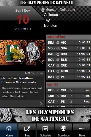 Gatineau Olympiques - screenshot