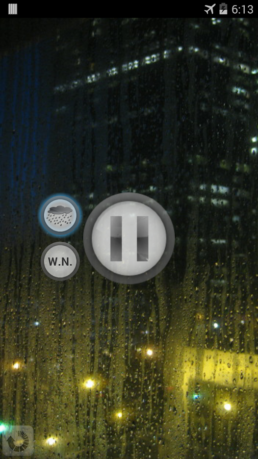 White Noise - Rainy Day - screenshot