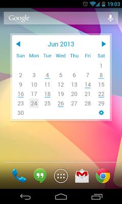 My Month Calendar Widget Lite - screenshot