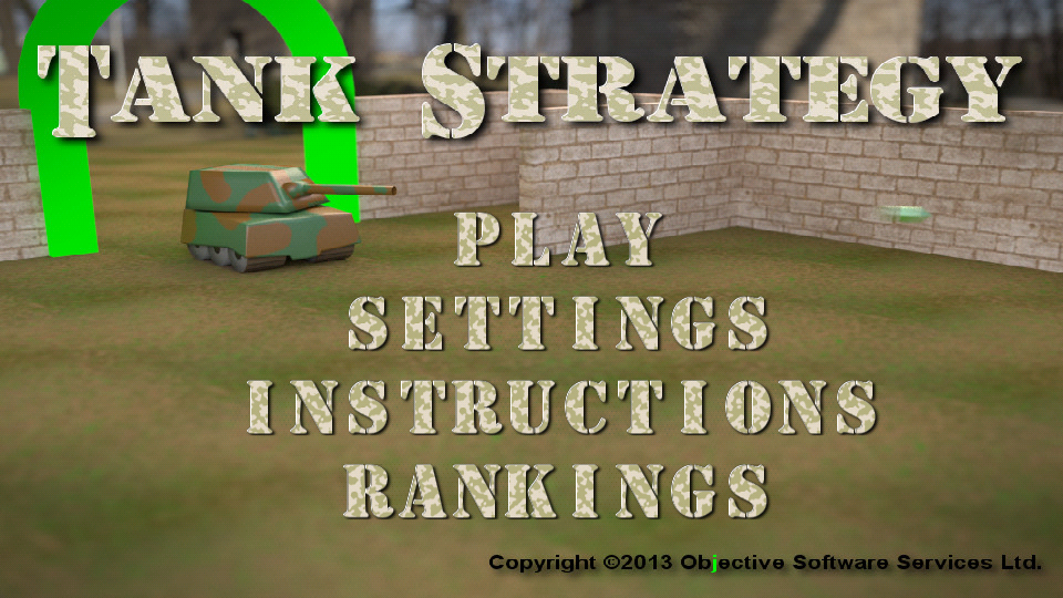 Tank Strategy- screenshot