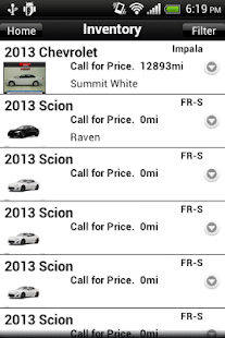 Serra Toyota App - screenshot thumbnail