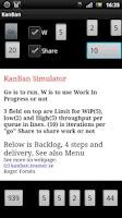Screenshot of KanBan Simulator