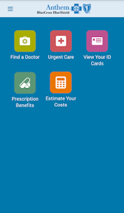 Anthem Blue Cross Blue Shield screenshot for Android