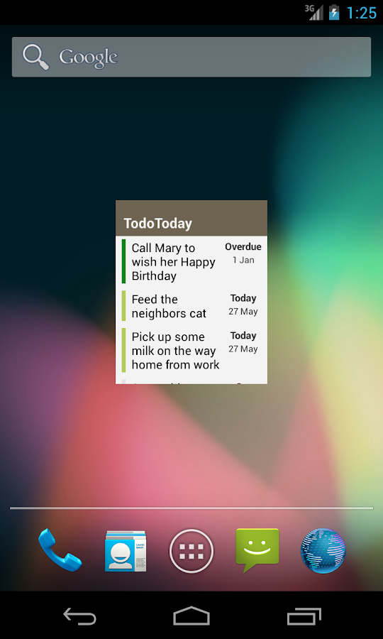 TodoToday for Nozbe - screenshot