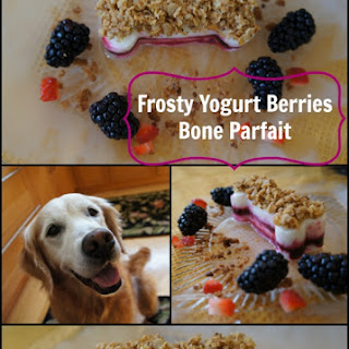 Frosty Yogurt Berries Bone Parfait