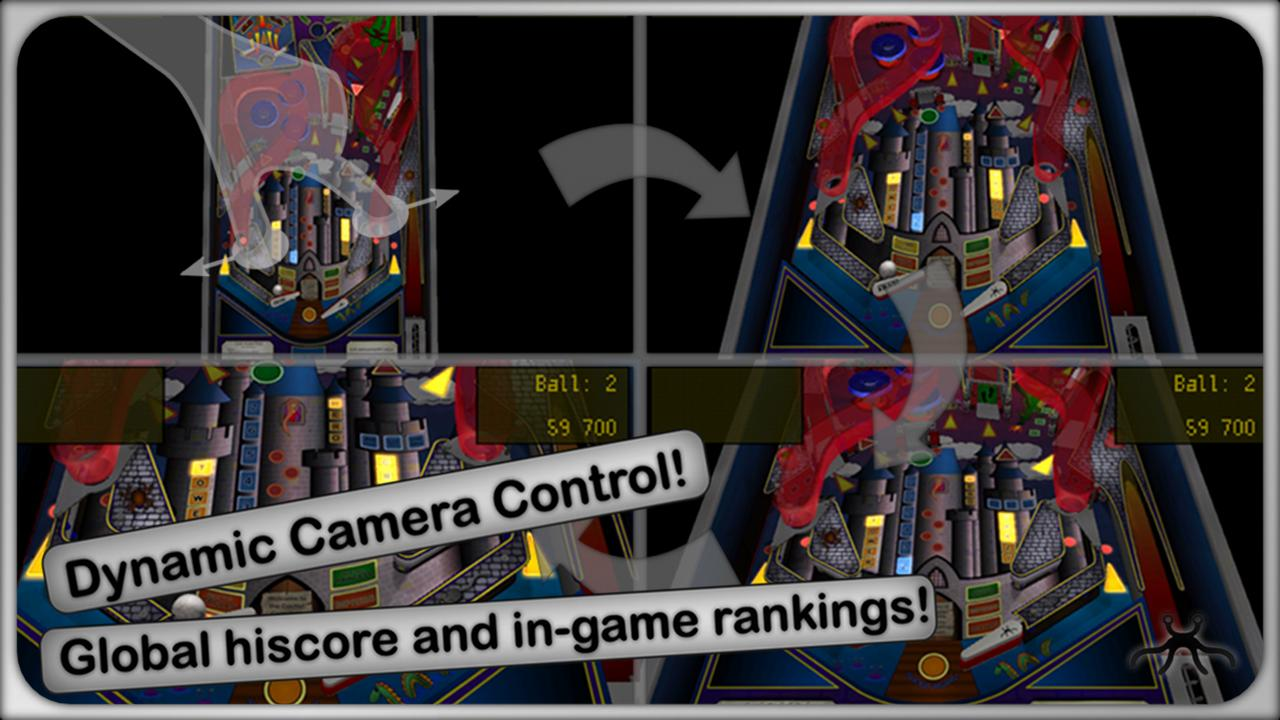 Pinball Crazy Castle - screenshot