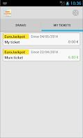 Screenshot of Results of EuroJackpot