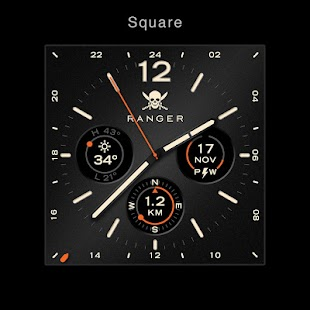 Ranger Military Watch Face- screenshot thumbnail