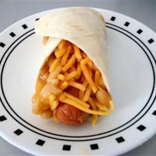 Beanie Weenie Quesadilla Rolls.