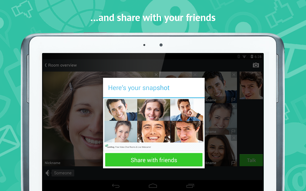 Camfrog - Group Video Chat - screenshot