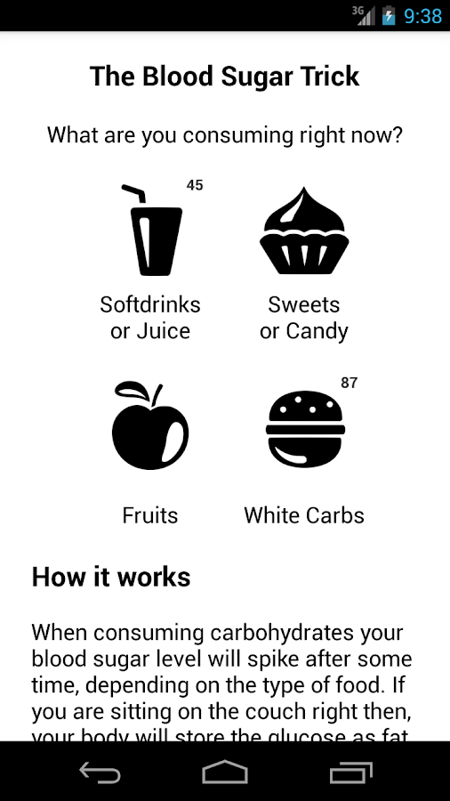 The Blood Sugar Trick- screenshot