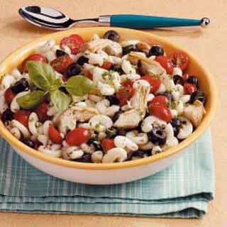 Artichoke Pasta Salad.