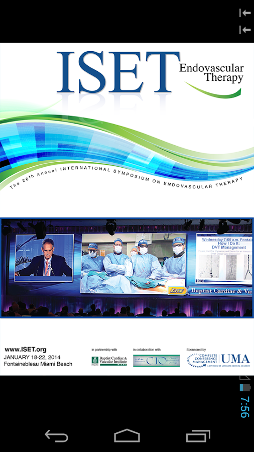 ISET CIO 2014 - screenshot