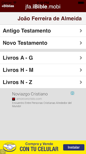 Bible - Joao Ferreira Almeida