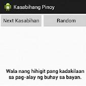 Mga Kasabihang Pinoy