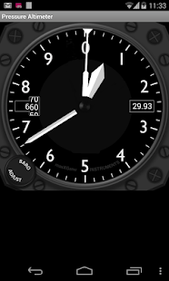 Pressure Altimeter - screenshot thumbnail