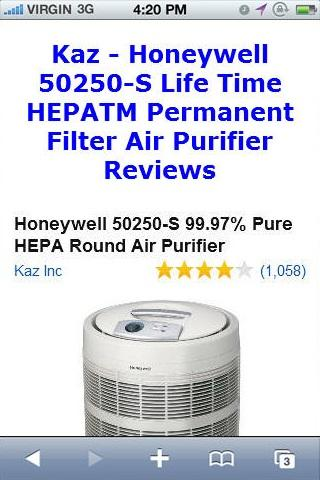 Filter Air Purifier Reviews