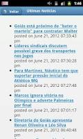 Screenshot of Esportes Notícias Mobile