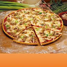 Abbildung Steinofen-Pizza Thunfisch