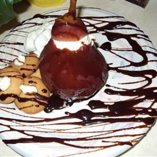 Pear Conserve with Cherries and Hazelnuts
