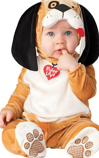 Baby Costumes Small Puzzle