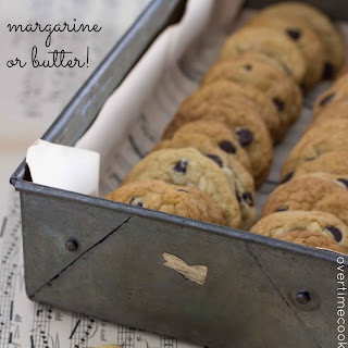 Best Ever Chocolate Chip Cookies {without margarine}
