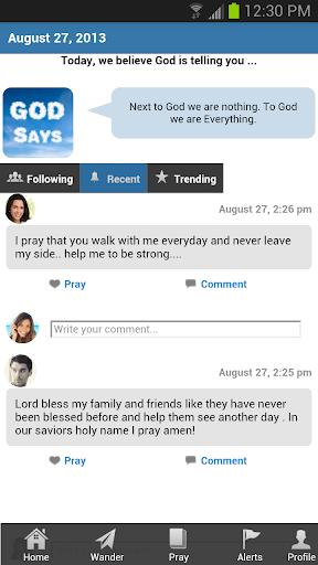 기도 - 하느님의 말씀