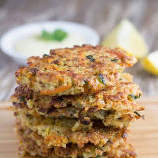 Quinoa Fritters With Garlic Aioli (Gluten-Free!).