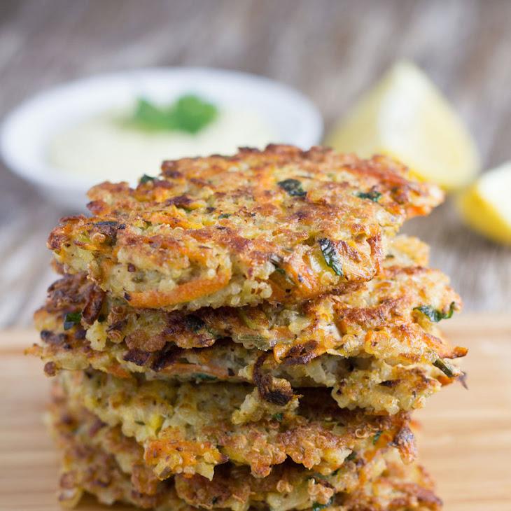 Quinoa Fritters with Garlic Aioli (Gluten-Free!) Recipe