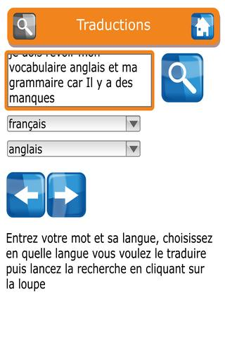 Mes dictionnaires free- screenshot