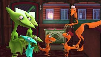 Kenny Kentrosaurus/Don and the Troodons