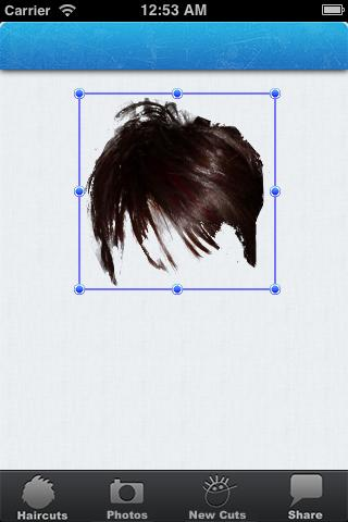 Mobile Hair Wizz - screenshot