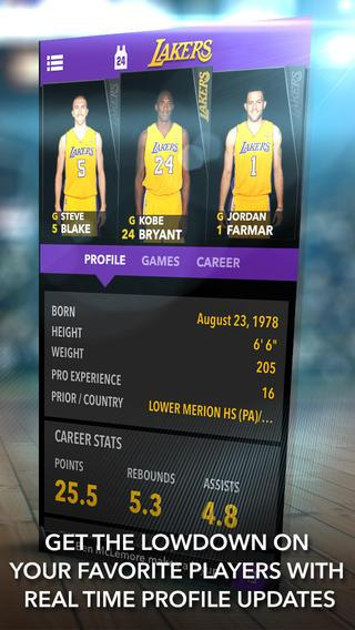 Los Angeles Lakers - screenshot