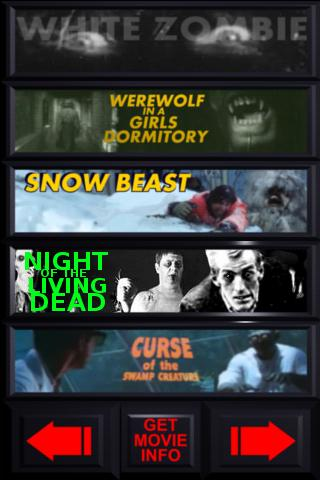 Movies - Horror Films - screenshot
