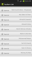 Screenshot of Audio Quran