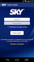 Screenshot of Guía SKY