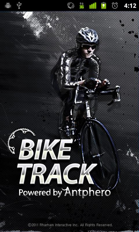 BikeTrack - screenshot
