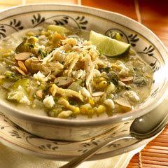 Aztec Chicken & Corn Soup