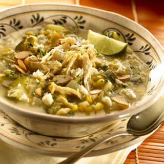 Aztec Chicken & Corn Soup.