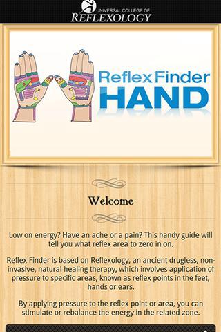 Reflex Finder : Hand