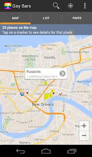 Gay Bar and Gay Club Locator screenshot
