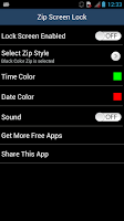 Screenshot of Zip Screen Lock - Security