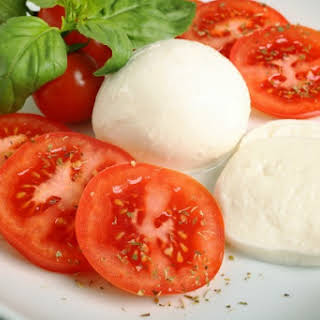 Homemade Mozzarella Cheese.