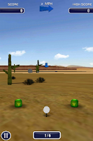 Screenshot of Golf 3D
