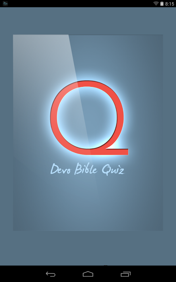Devo Bible Quiz- screenshot