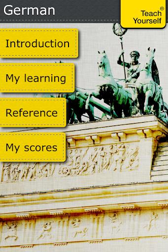 German: Teach Yourself Pro