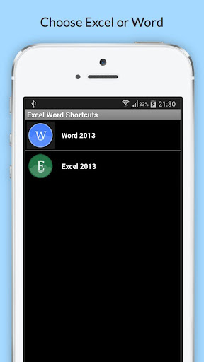 Shortcuts Excel Word 365 PRO