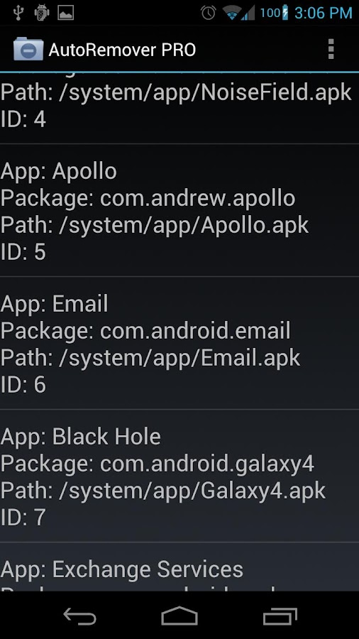 AutoRemover PRO- screenshot