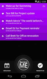 Remind Me - Quick Reminder App- screenshot thumbnail